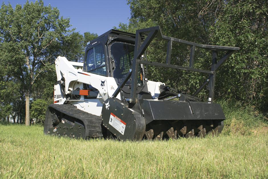 Bobcat Forestry Cutter Attachment For Sale Rent Or Lease