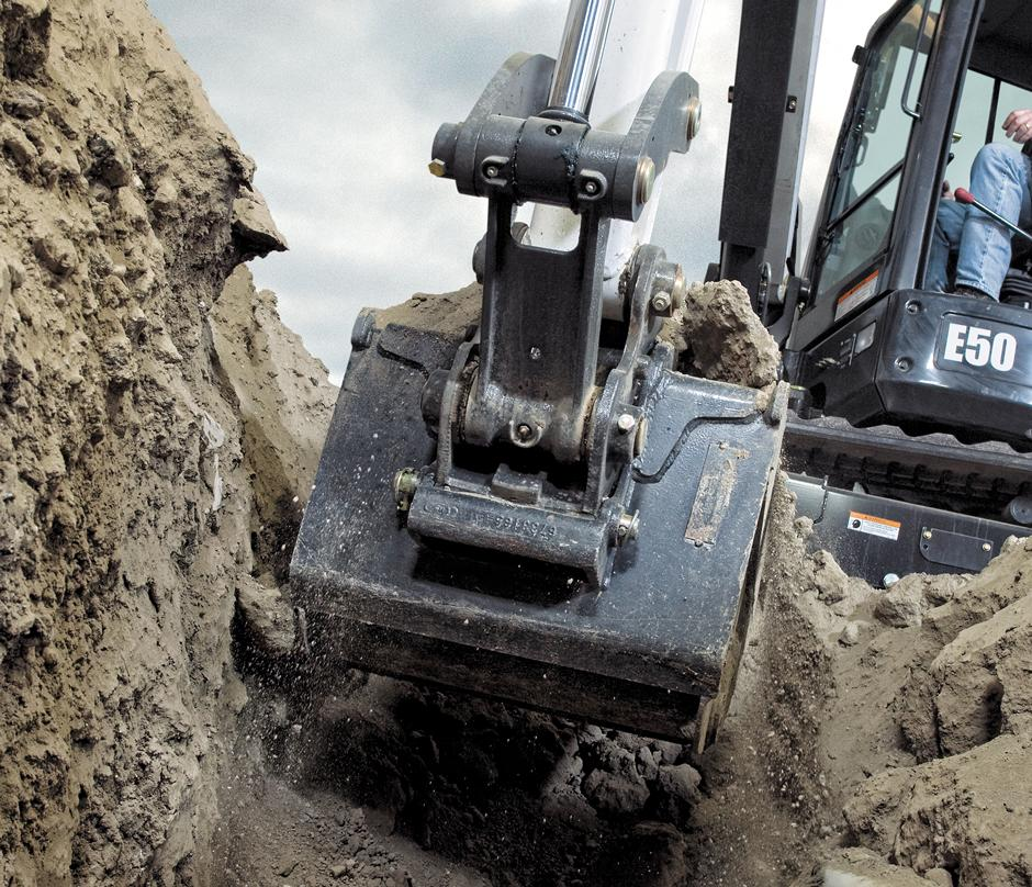 Track Loader For Sale >> Bobcat Trenching Pin-On Bucket Attachment for Sale, Rent ...