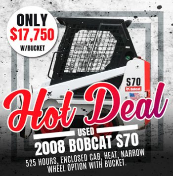 Used 2008 Bobcat S70