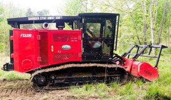 FTX290 Mulching Tractor full