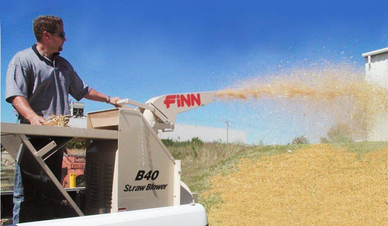 Finn B40T Straw Blower full