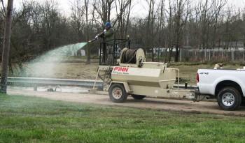 Finn T60T HydroSeeder full