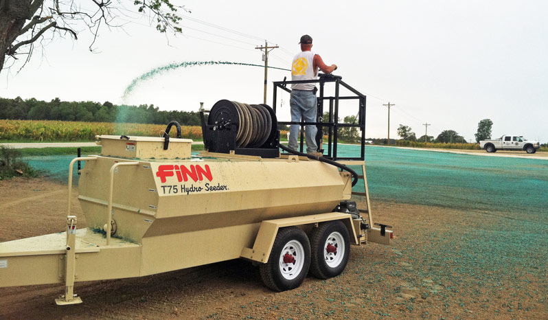 New Finn T75t Hydroseeder In New Jersey 187 Garden State Bobcat