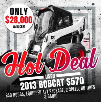 Used 2013 Bobcat S570